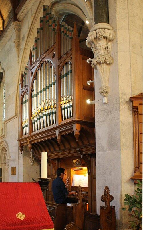 Копенгаген. Англиканскаяцерковь Святого Албана.орган