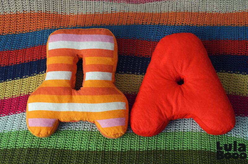 Буква-подушка мастер класс видео