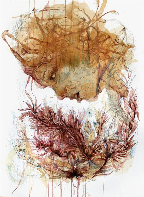 Графика Carne Griffiths - неакварельная акварель