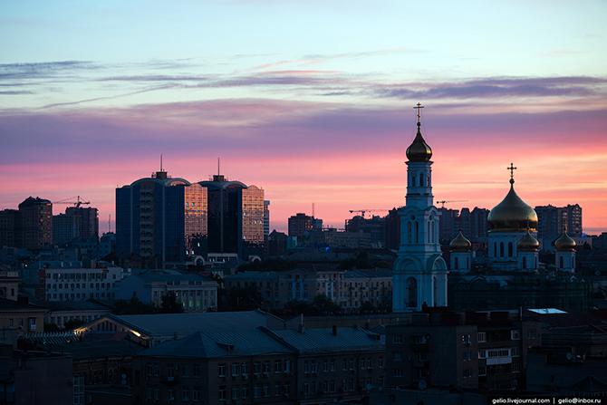 Взгляни на Ростов-на-Дону с высоты;)) Фотогораф Степанов Слава