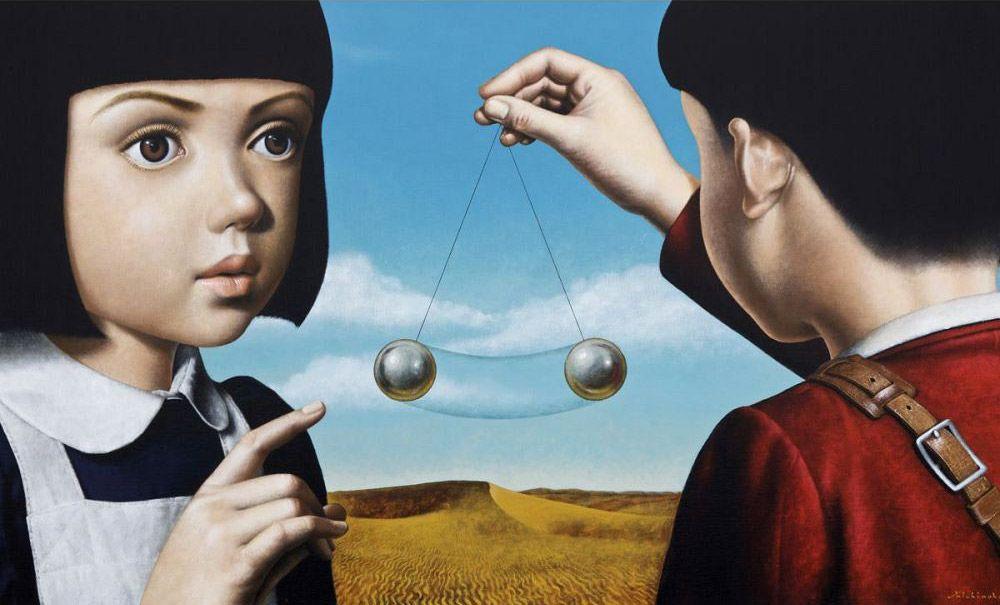 Японский художник Masaru Shichinohe
