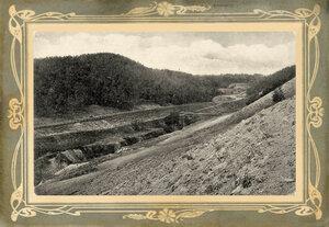 Вид моста возле горы Богданиха