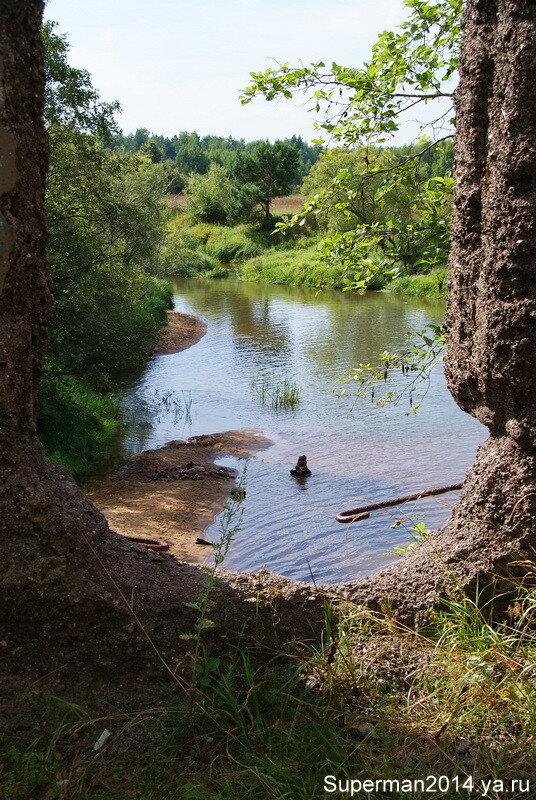 Заброшенная ГЭС возле деревни Финеево