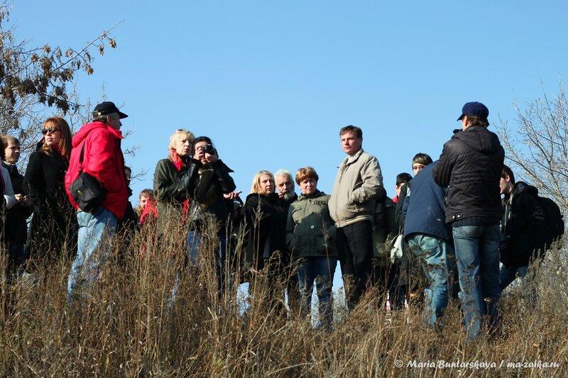 Пресс-тур по родникам, Саратов, 25 октября 2013 года