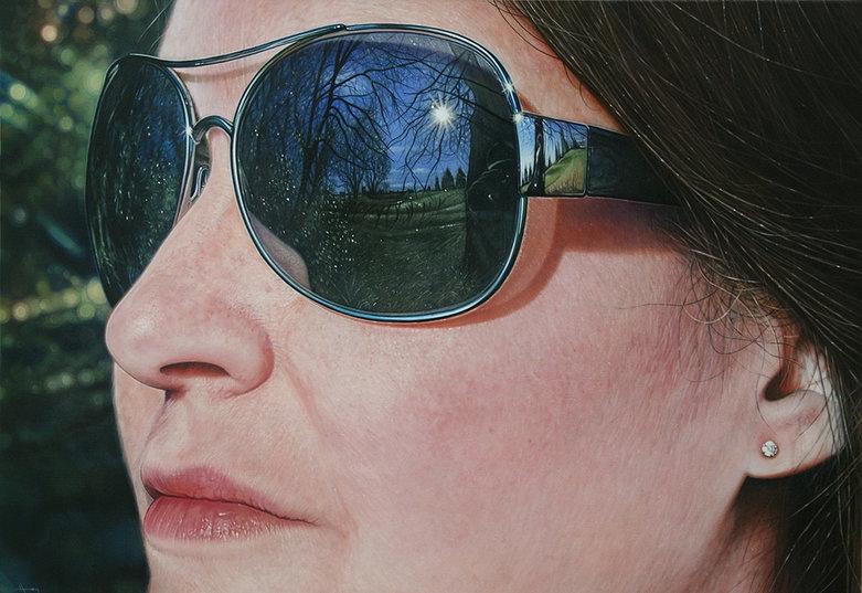 Фотореалистичные портреты Саймона Хеннесси