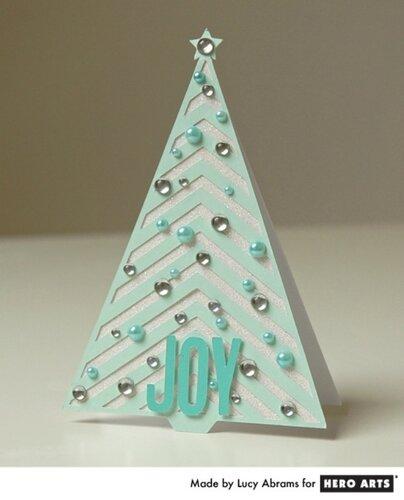 Карточка-открытка Новогодняя елочка