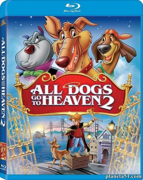 Все псы попадают в рай2 / All Dogs Go to Heaven2 (1996/HDRip)
