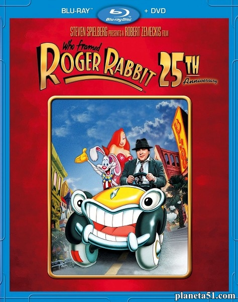 Кто подставил кролика Роджера / Who Framed Roger Rabbit (1988/HDRip)