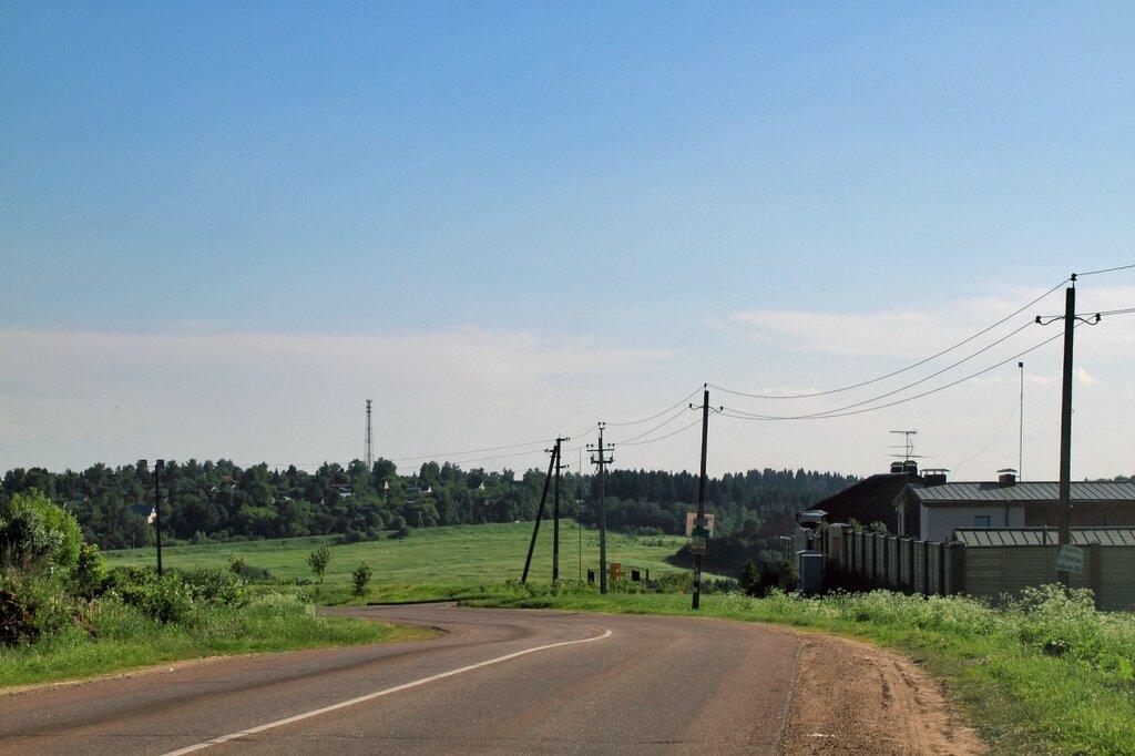 Дорога в Ильинском