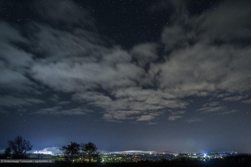 Ночной город Слободской