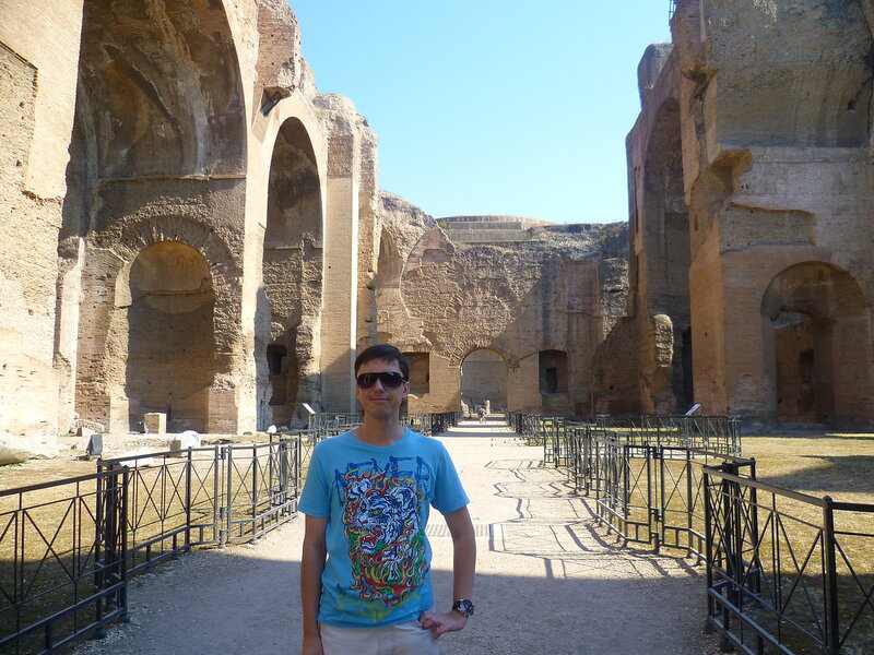 Италия, Рим - термы Каракаллы (Italy, Rome - Baths of Caracalla)