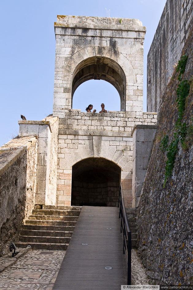 Башенка в Новой Крепости (Керкира, Корфу, Греция)