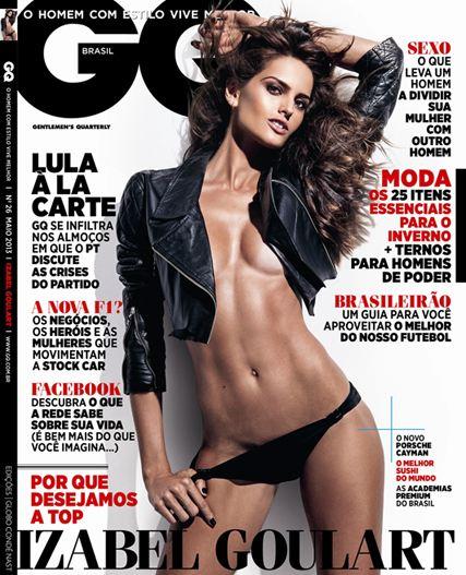 Izabel Goulart / Изабель Гулар в журнале GQ Brazil, май 2013 / фотограф Zee Nunes
