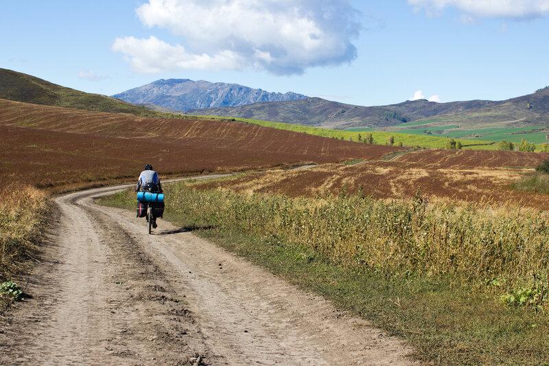 дорога от Тургусуна в горы