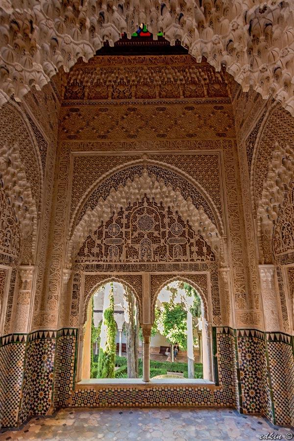 Испания, Гранада: Альгамбра, интерьеры