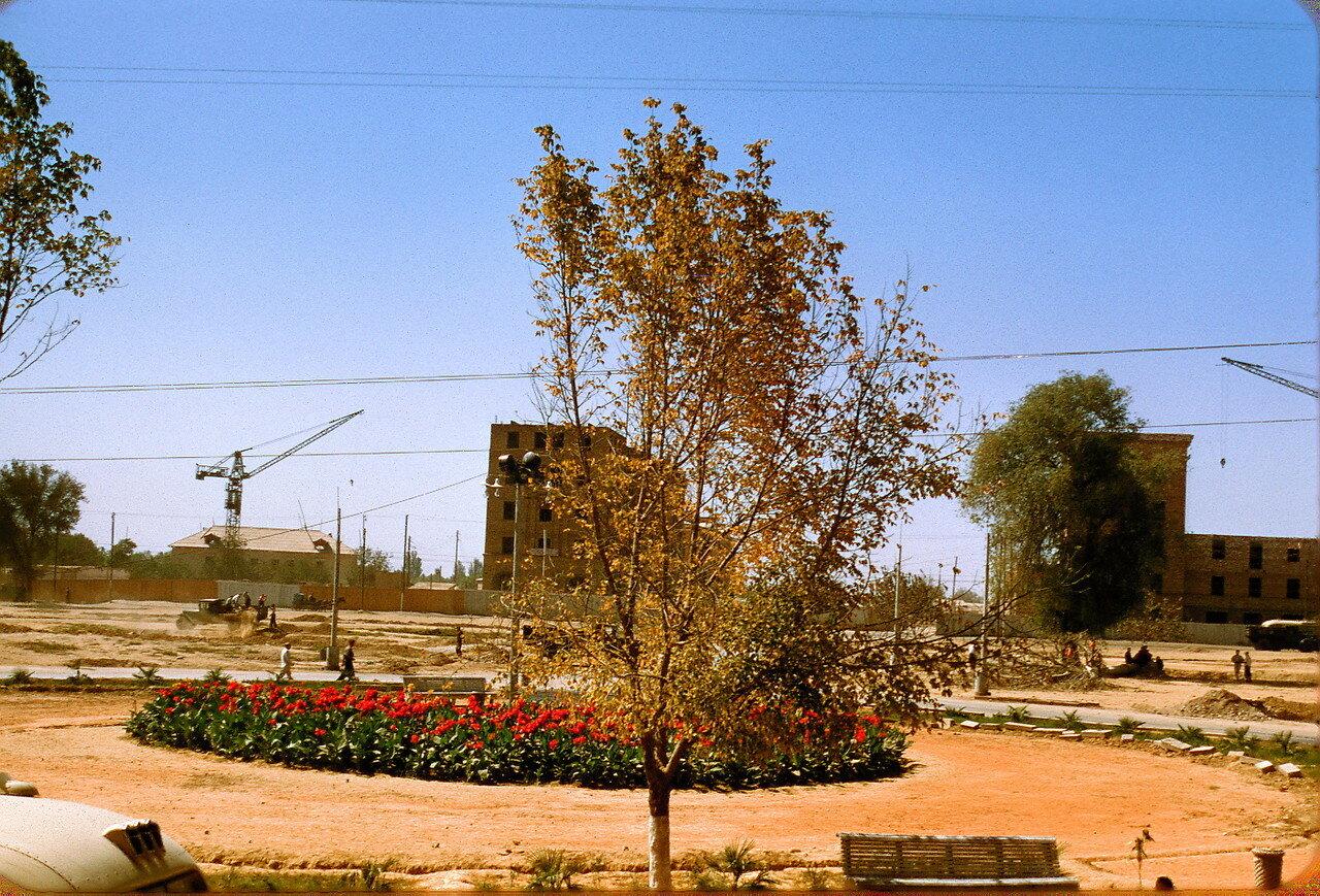 Стройка в Ташкенте