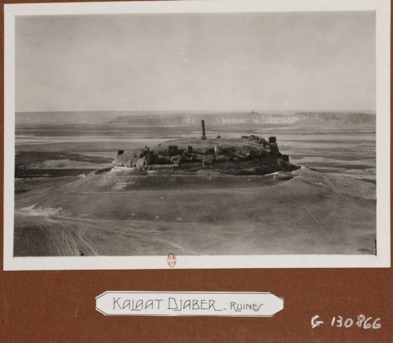 Руины крепости Калаат Джабер
