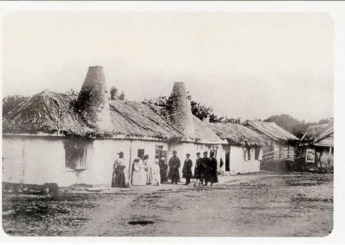 Кабардинское селение. ХIХ век.