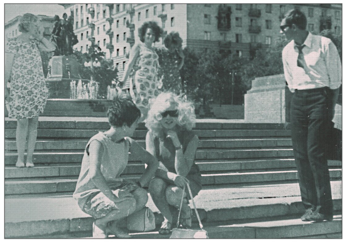 1968. Волгоградская набережная