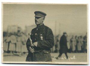 Командир  1-й Забайкальской дивизии Глазков А.А.