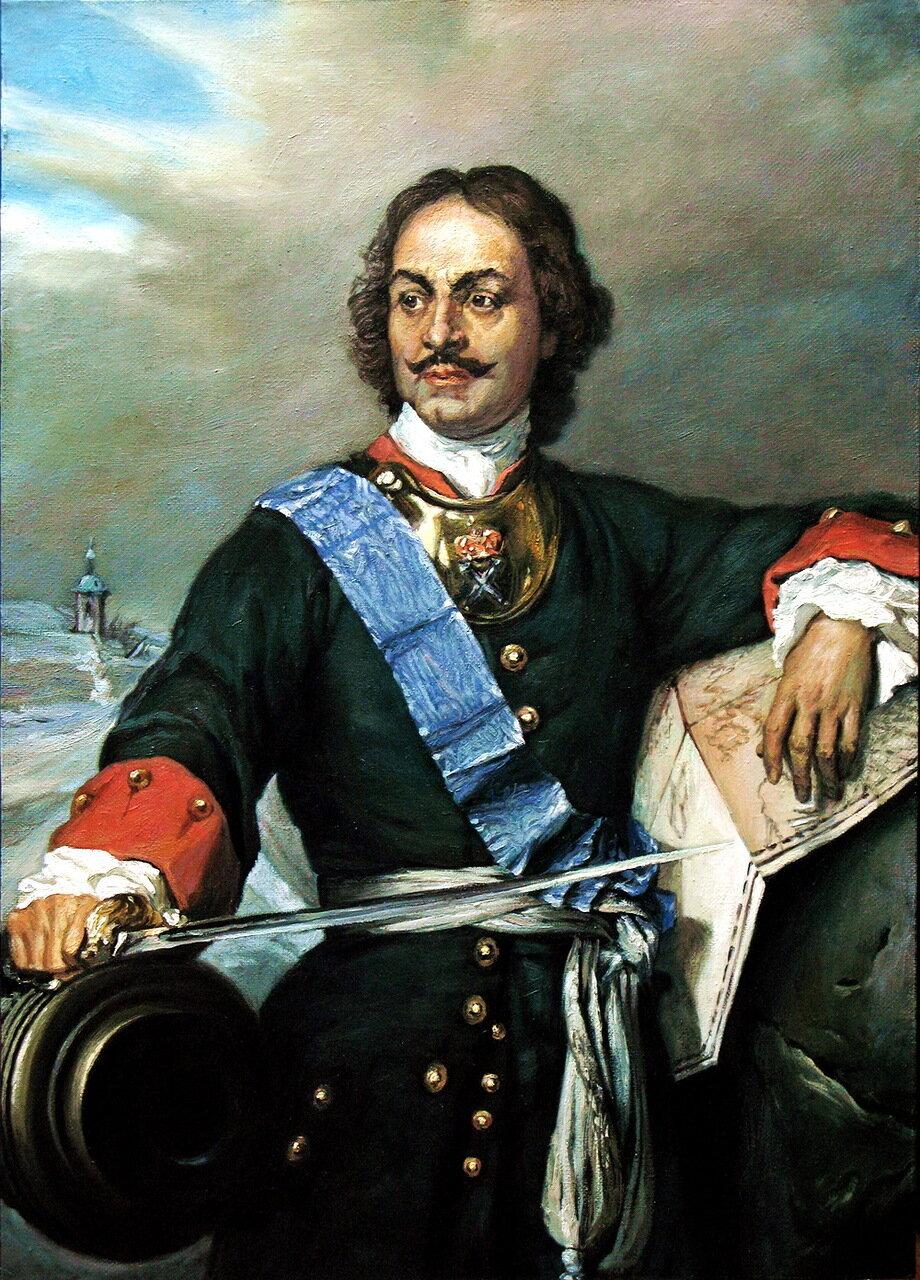 Поль Деларош (1797-1856). Петр Великий, 1838