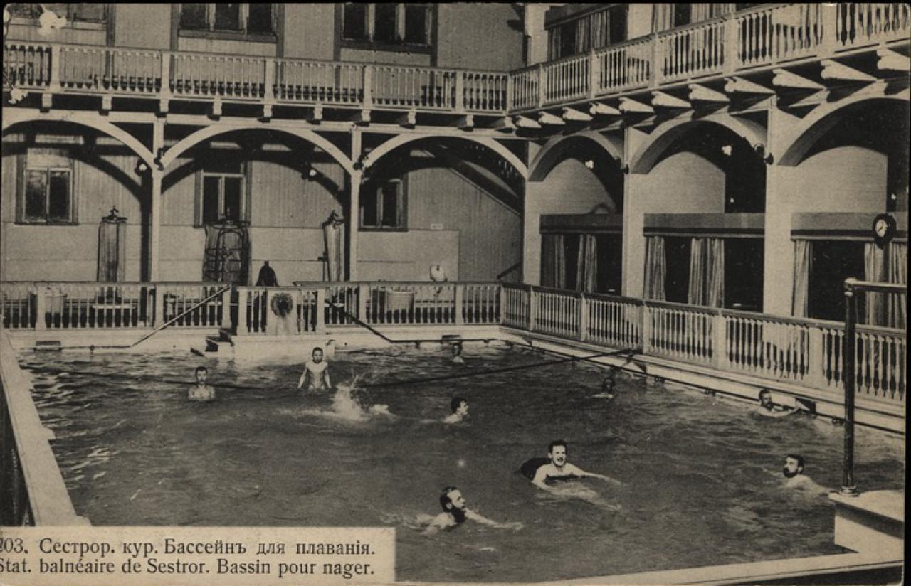 Бассейн для плавания