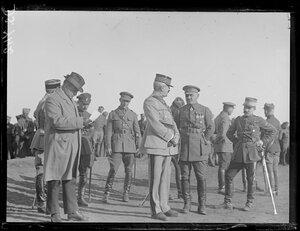 1919. Омск. Генерал Жанен и Сиров