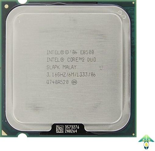 S-775 Core 2 Duo E8500