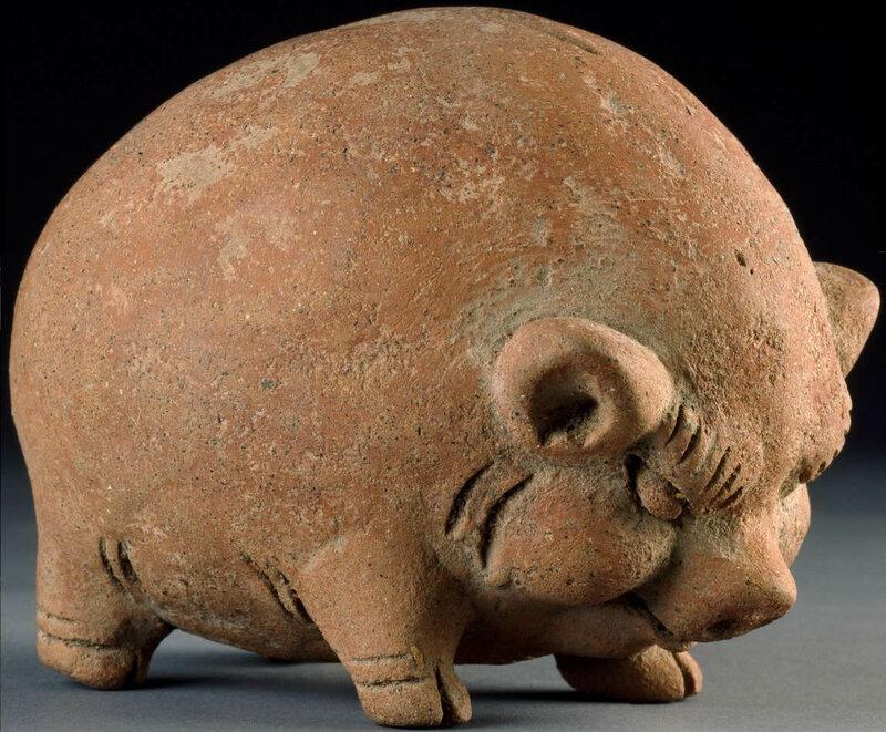 Ashmolean piggy bank