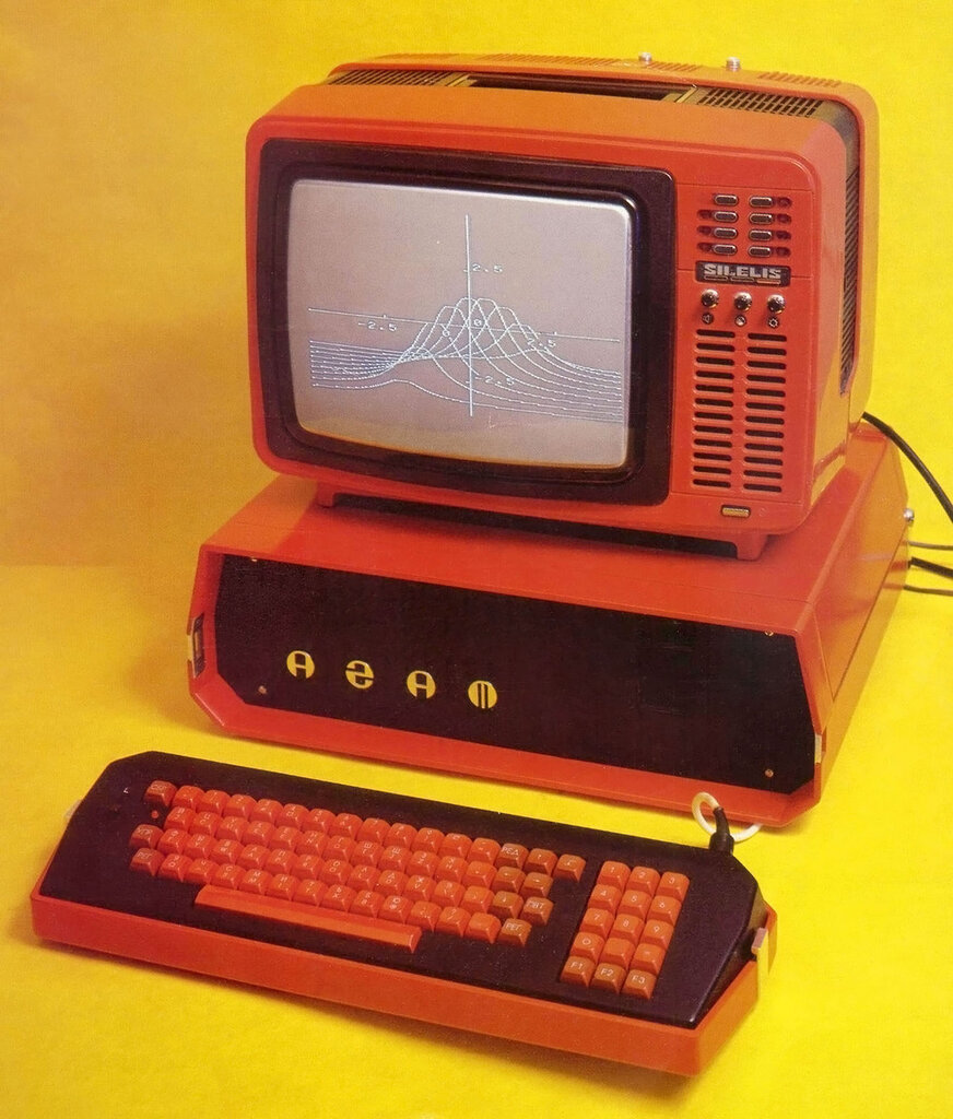 The Agat 4, an Apple II clone that was the most popular PC produced in the Soviet Union