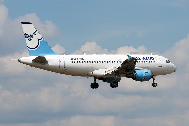 Airbus A319-112 (F-HCZI) Eigle Azur DSC_3798