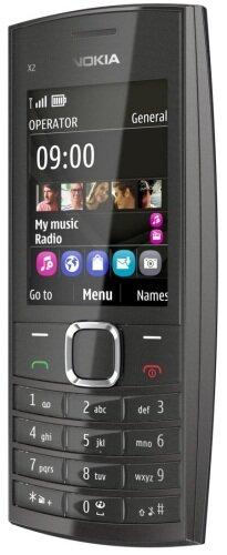 Nokia X2-05 (с активным режимом главного экрана)