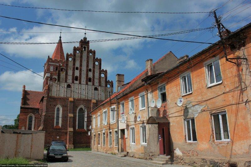 «Калининградская Европа»: город #Правдинск, он же Фридланд