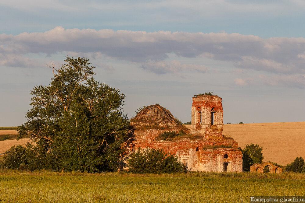 Никольское. Церковь Николая Чудотворца.