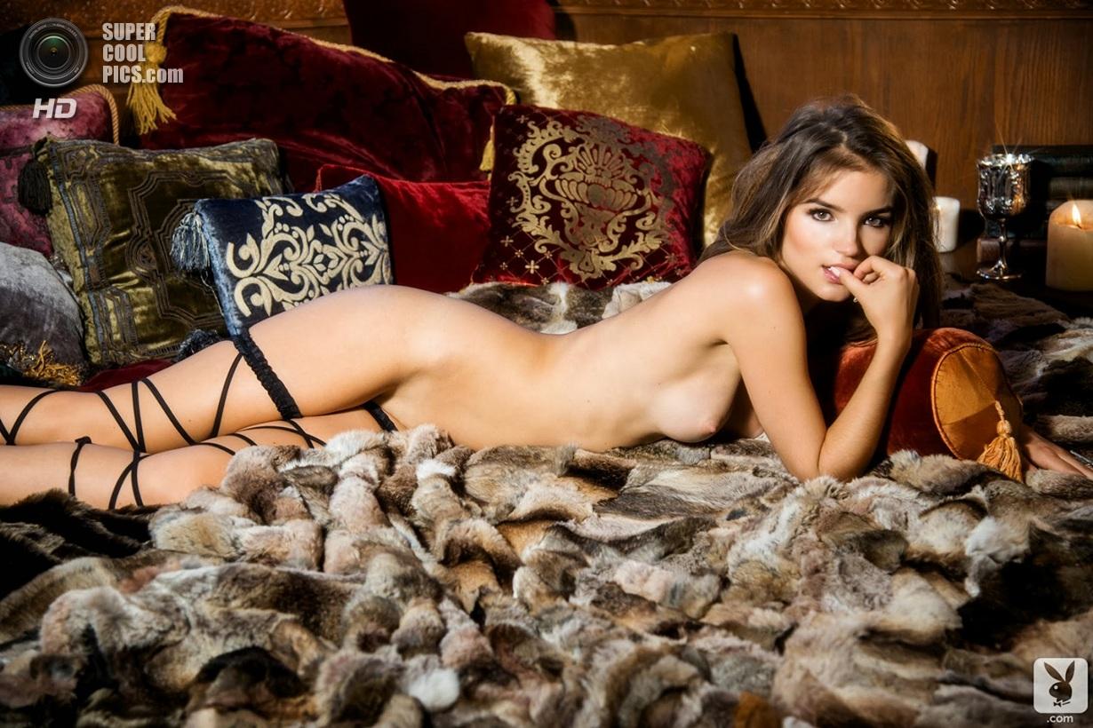 Рос ван Монфор снялась в Playboy (23 фото)