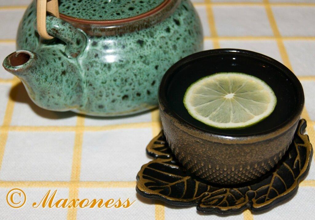 Тайский чай с лимонным сорго. Тайская кухня