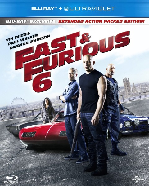 Форсаж 6 / Fast & Furious 6 [EXTENDED] (2013/HDRip/2100Mb/1400Mb)
