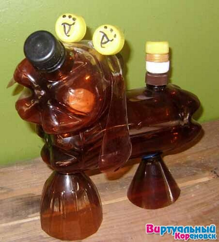 Поделки своими руками из пластиковых бутылок