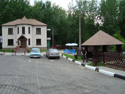 Отдых в Беларуссии: придорожное кафе