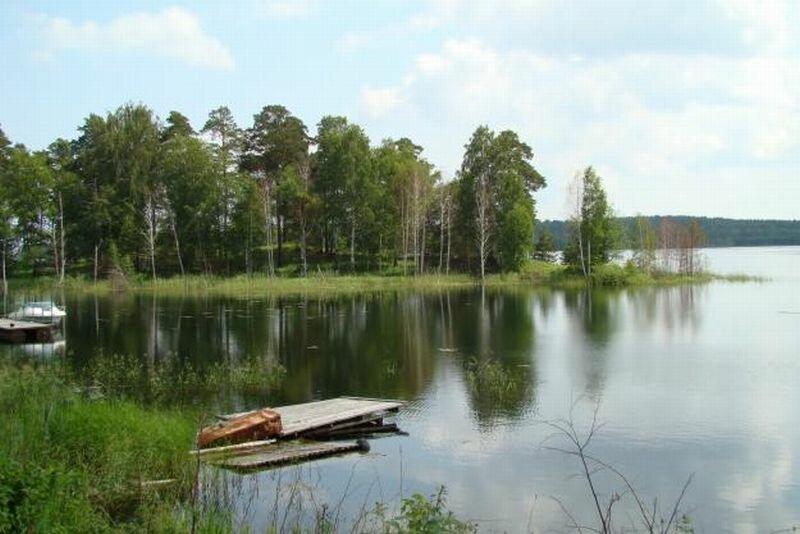 Места для рыбалки на озере (17.06.2013)