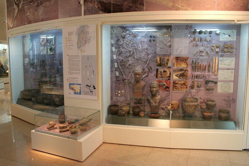 Стенды в музее Аркаима (19.09.2013)