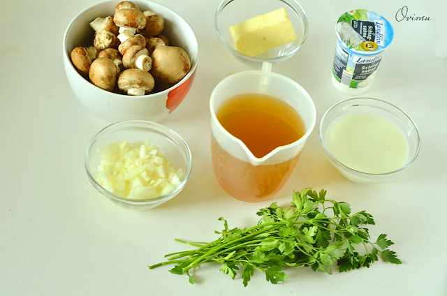 Как сделать крем суп из шампиньонов фото 577