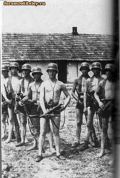 Заснятые кадры секса солдат вермахта