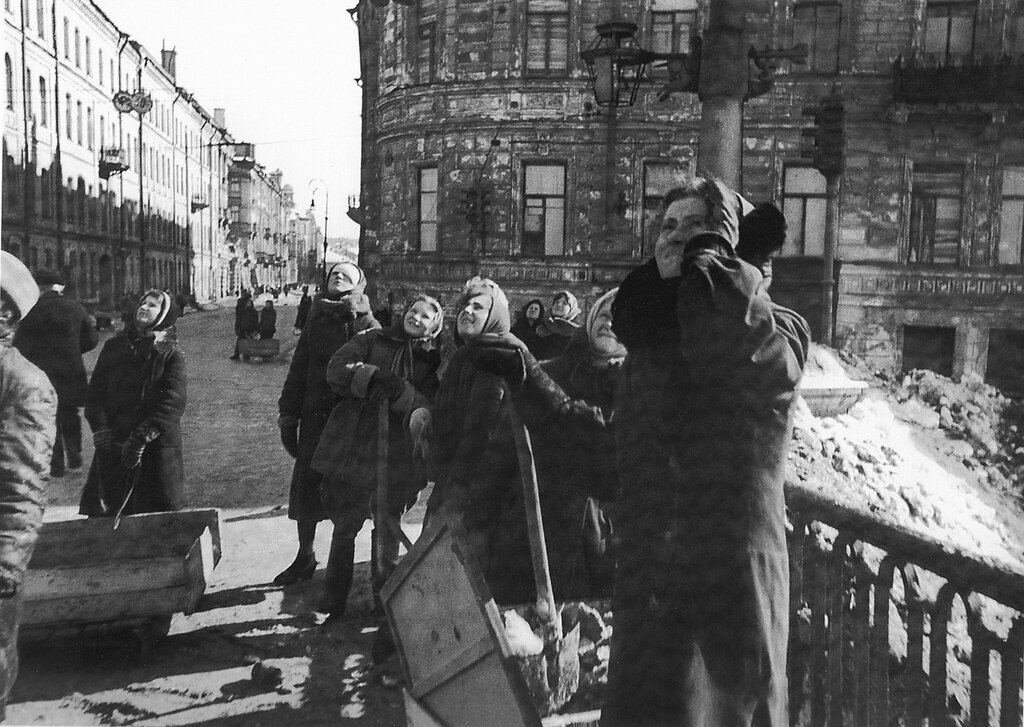 блокада ленинграда очки фото нас