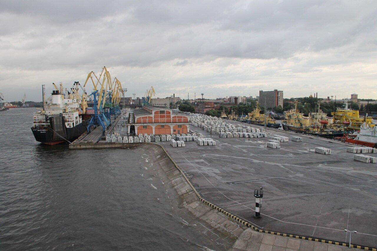 Санкт-Петербург, Морской канал, барк Седов
