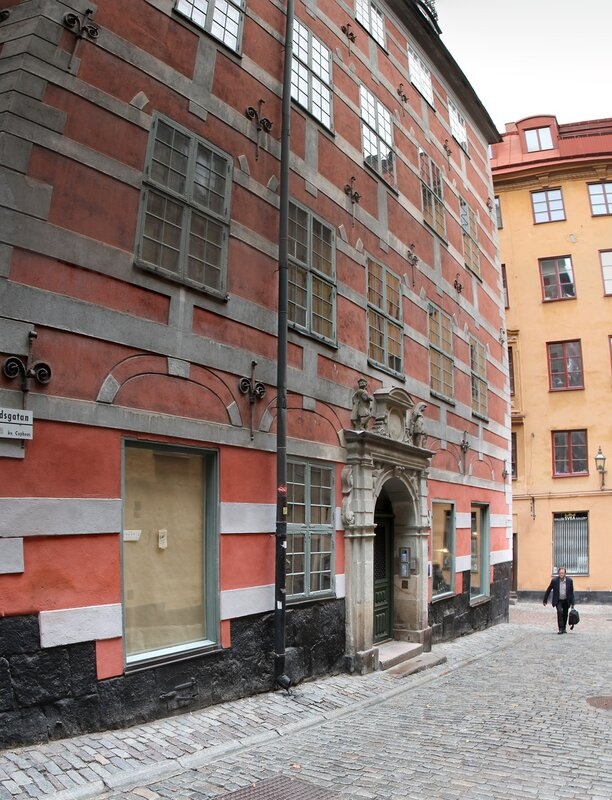 Стокгольм, Гамла Стан. Дом Бартеля. Bartelska huset