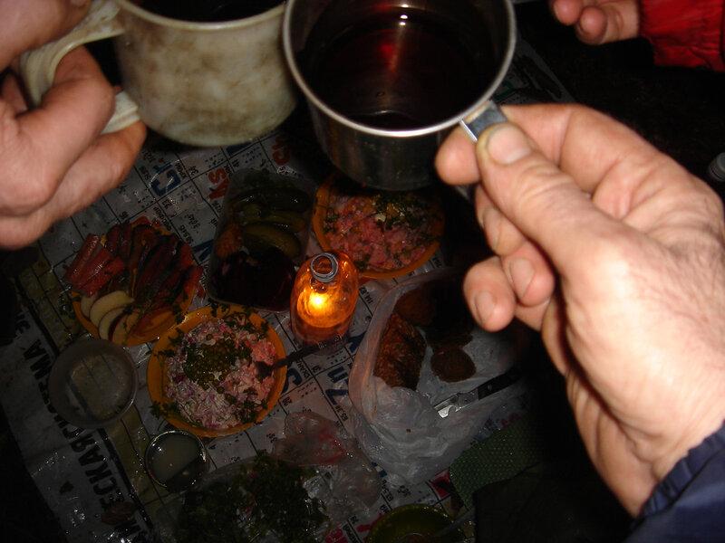 Фото 10а. Шампанское под бой курантов