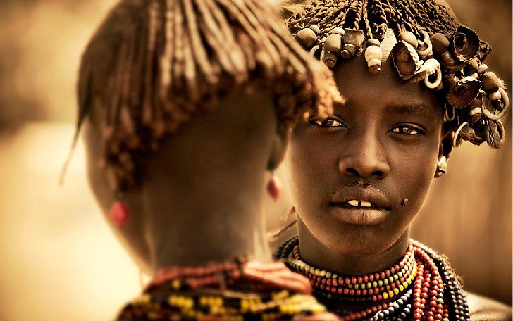 прически древней африки фото