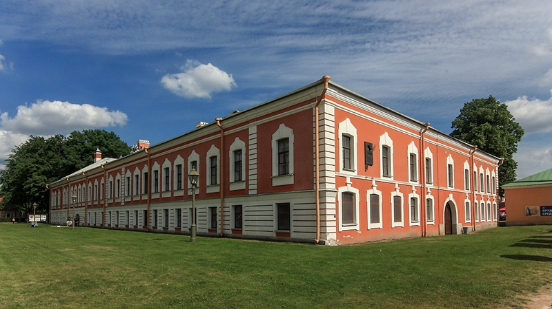Петропавловская крепость. Санкт-Петербург.
