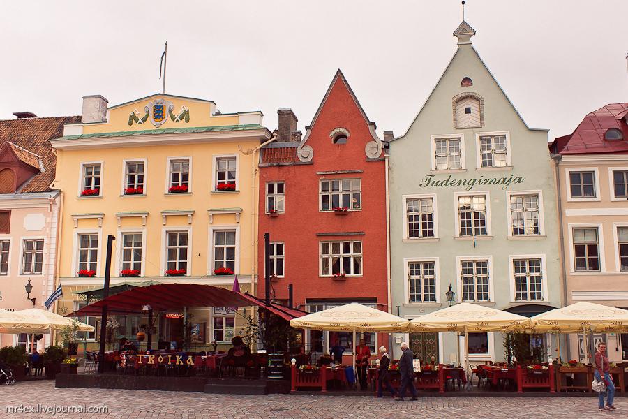 Эстония, Таллин, Ратушная площадь, Raekoja